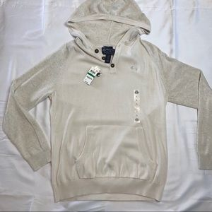 NWT American Rag Hooded Sweater Size Large